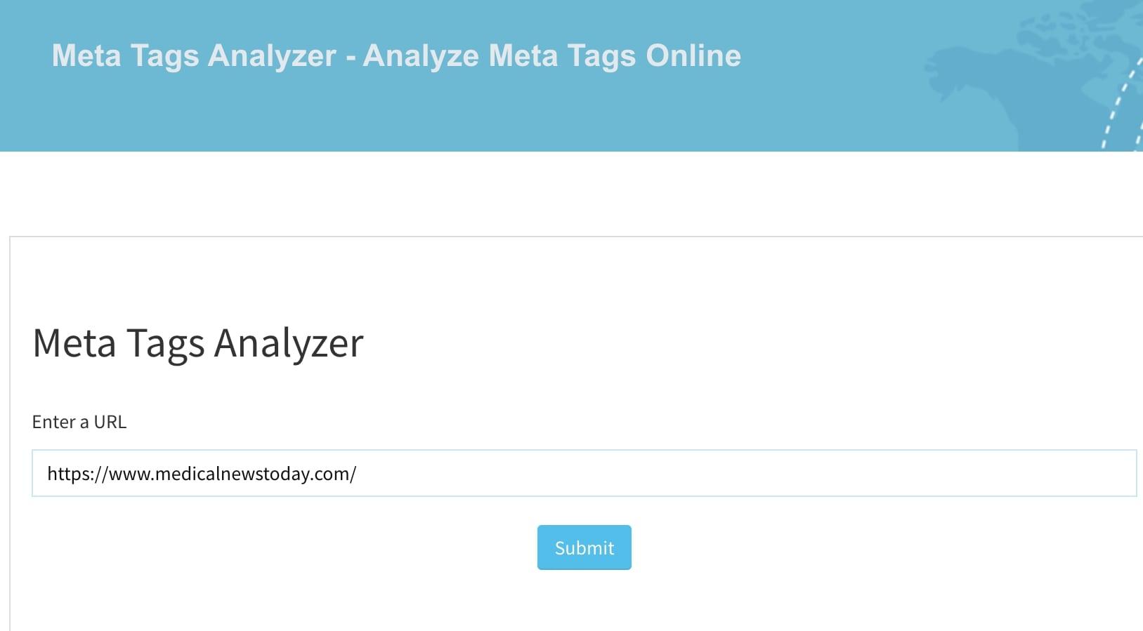 meta-tags-analyzer